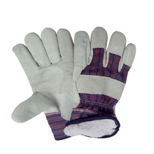 Cold resistant leather work glove