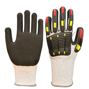 Anti Cut Gloves TPR Impact Resistant Glove Mechanic Safety Glove