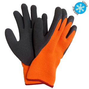 Foam latex coated winter glove HKL634